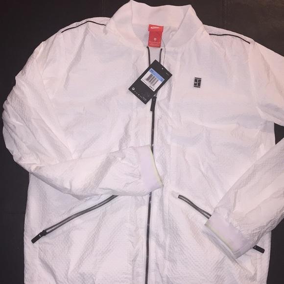002ef7fbaac4 NWT Nike Court Varsity Jacket New
